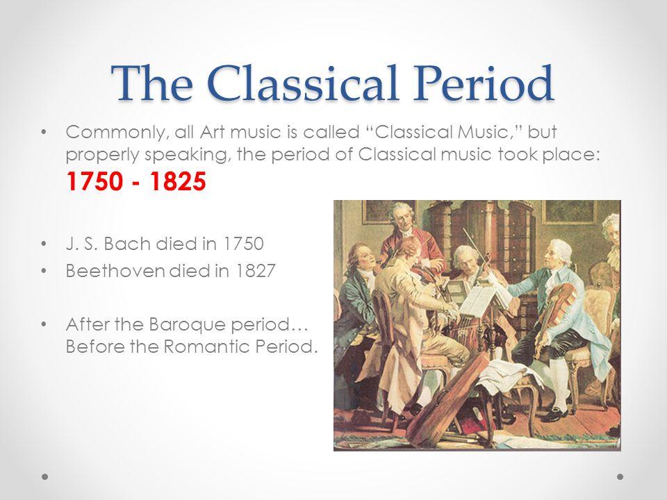 classical era 1750 to 1820