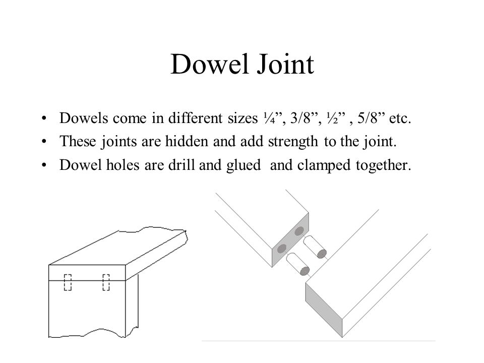 Types Of Wood Joints Ppt Video Online Download