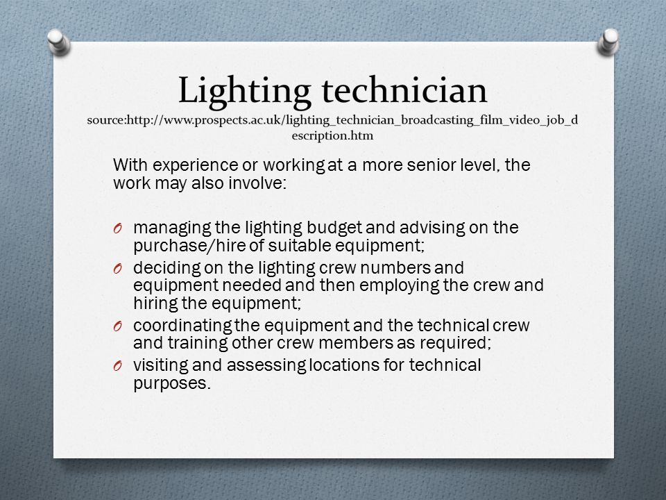 11 With experience ...  sc 1 st  SlidePlayer & Assignment NO1. PMD1. Job roles within a production team. - ppt ...