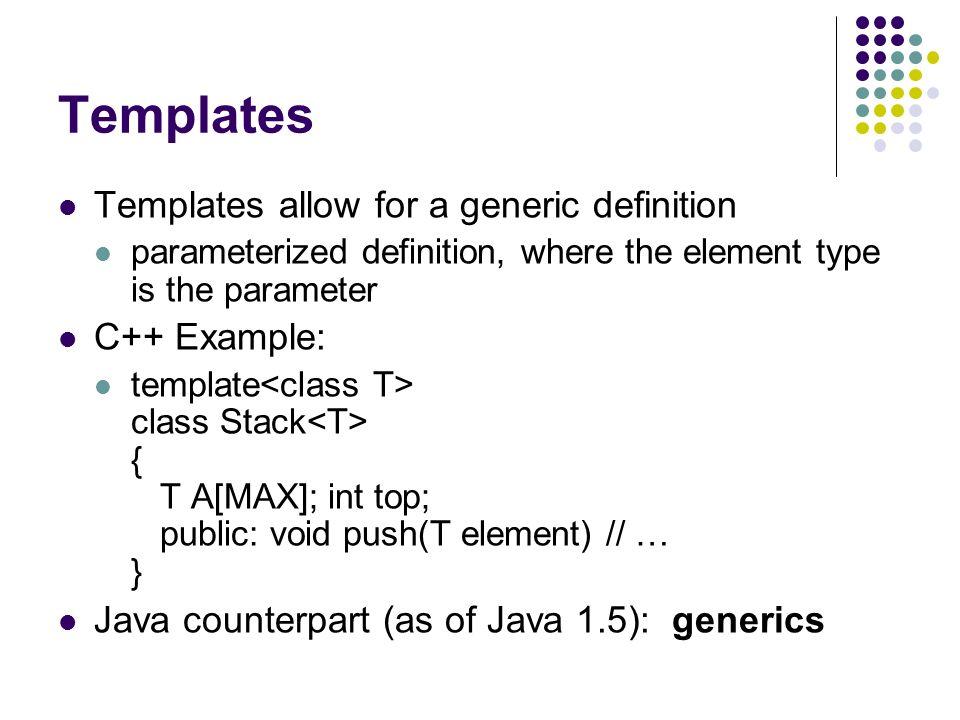 OOP Languages: Java vs C++ - ppt video online download