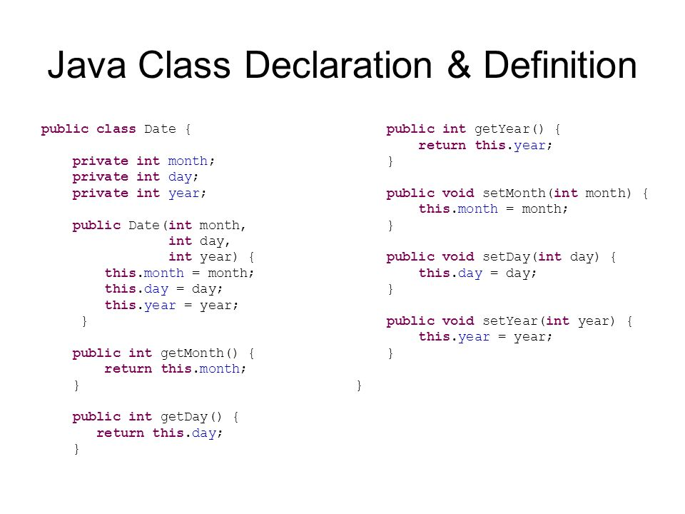 Classes and nested classes in java.