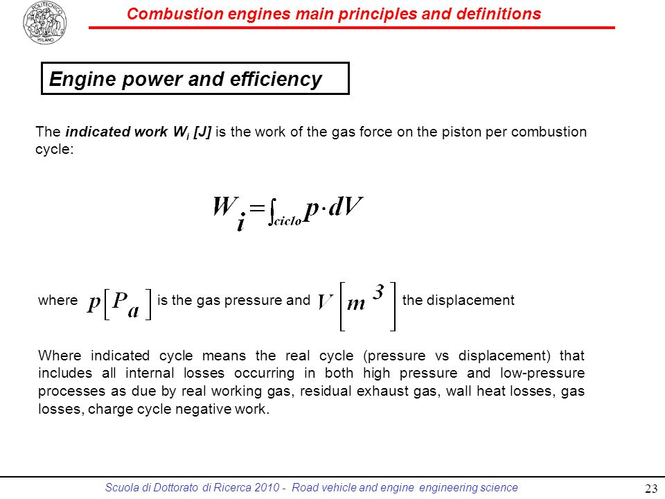 Combustion engines main principles and definitions - ppt download