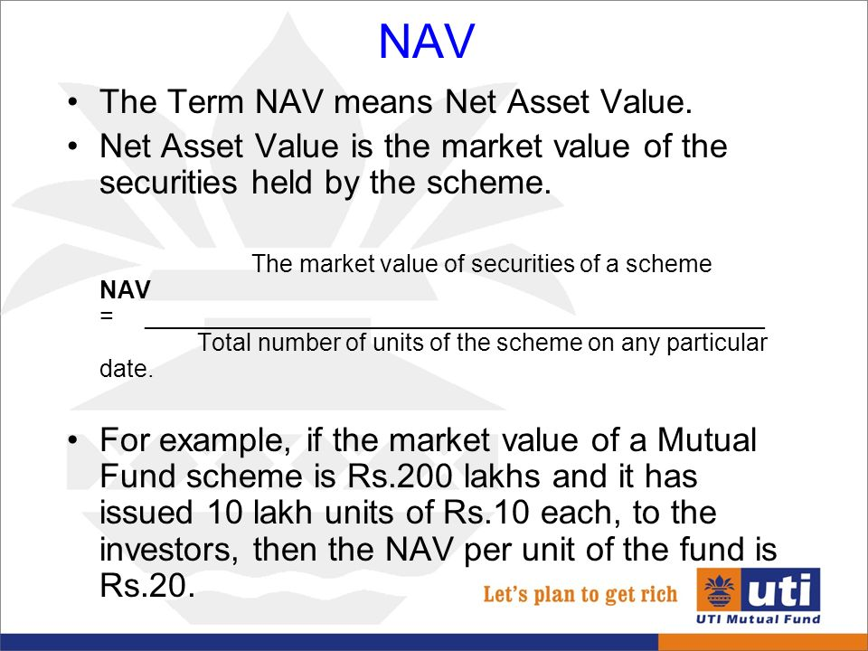 Automate net asset value (nav) calculation on your stock portfolio.