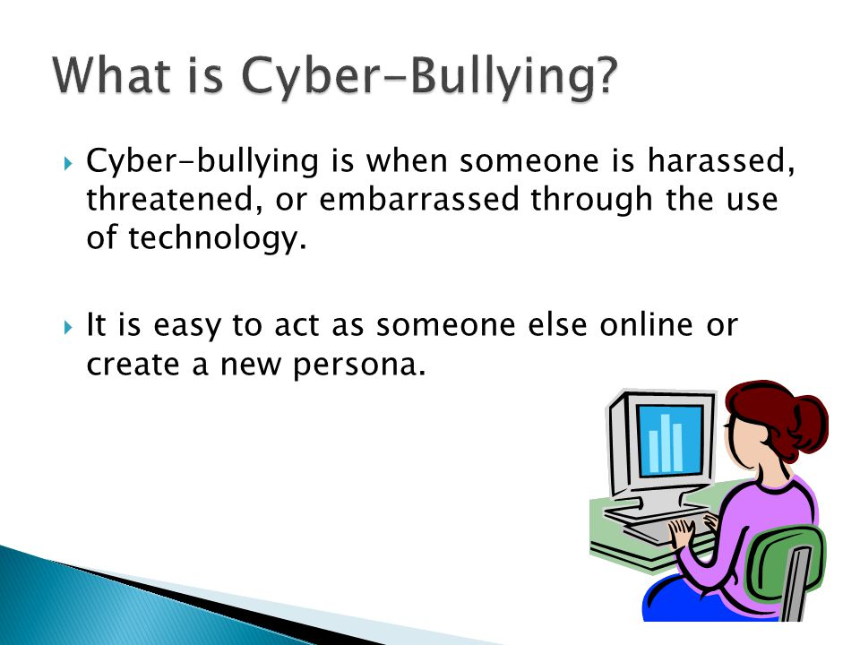 Cyber-Bullying in Schools - ppt video online download