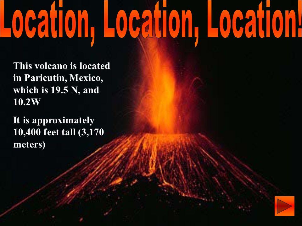 the paricutin volcano