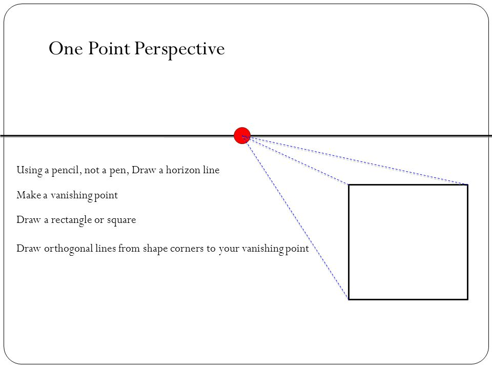 1 2 Multiple Point Perspective Ppt Download