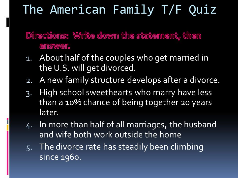 1 - Family and Marriage Across Cultures - ppt video online download