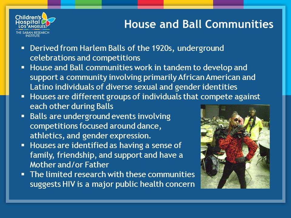 House and Ball Communities