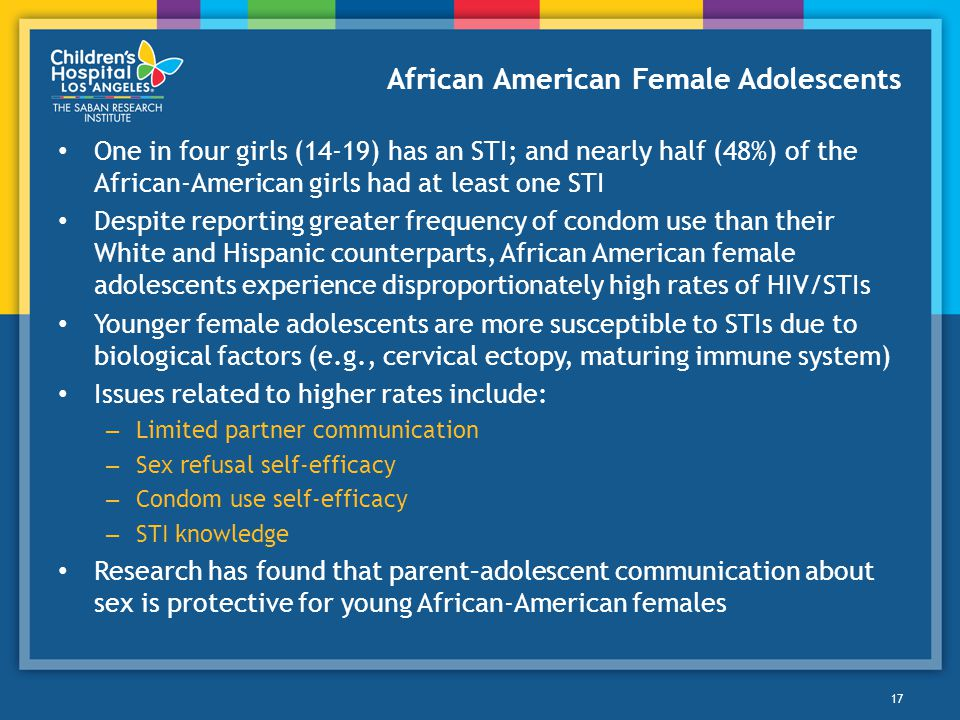 African American Female Adolescents