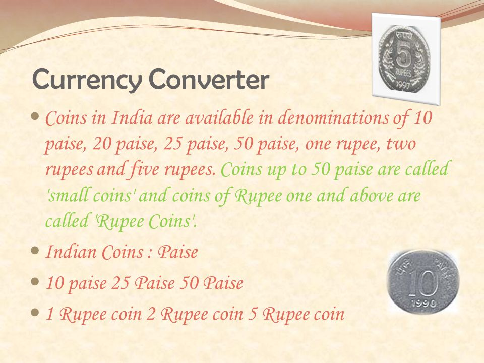 3 Currency Converter