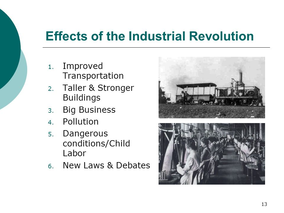 how did improvements to transportation help the industrial revolution