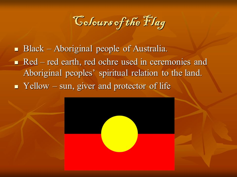 The Aboriginal Flag And Tent Embassy Ppt Video Online Download