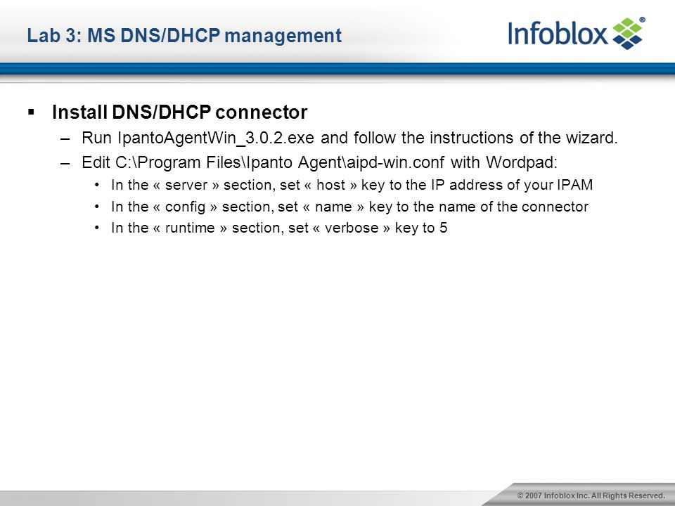 Infoblox IPAM for Microsoft - ppt video online download