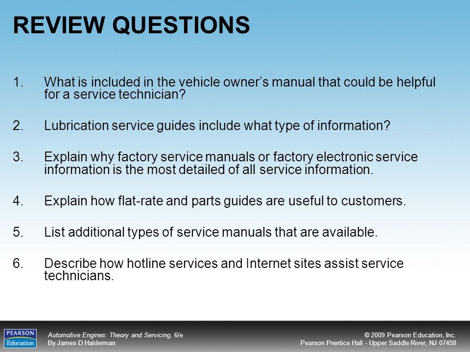 automotive service manual