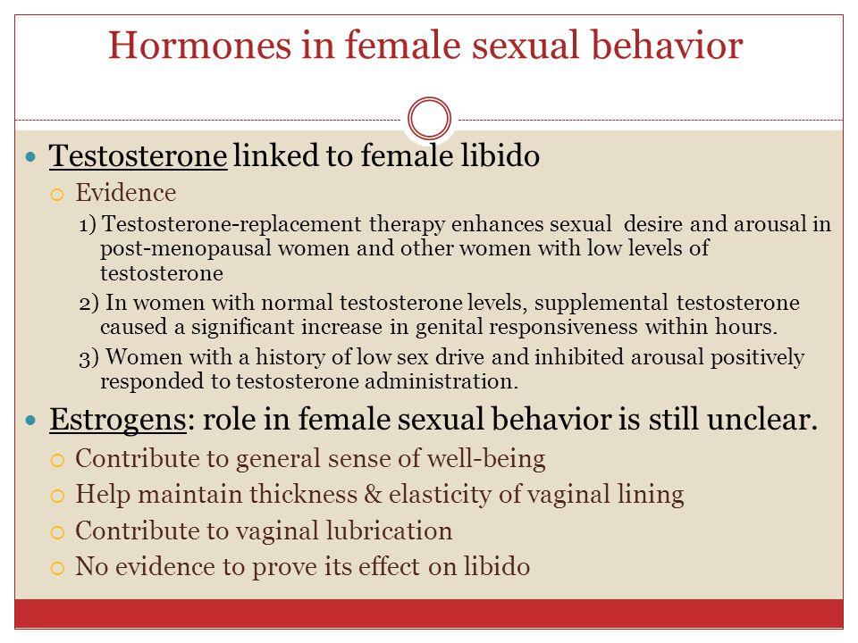 Human Sexual Behavior And Animal Models