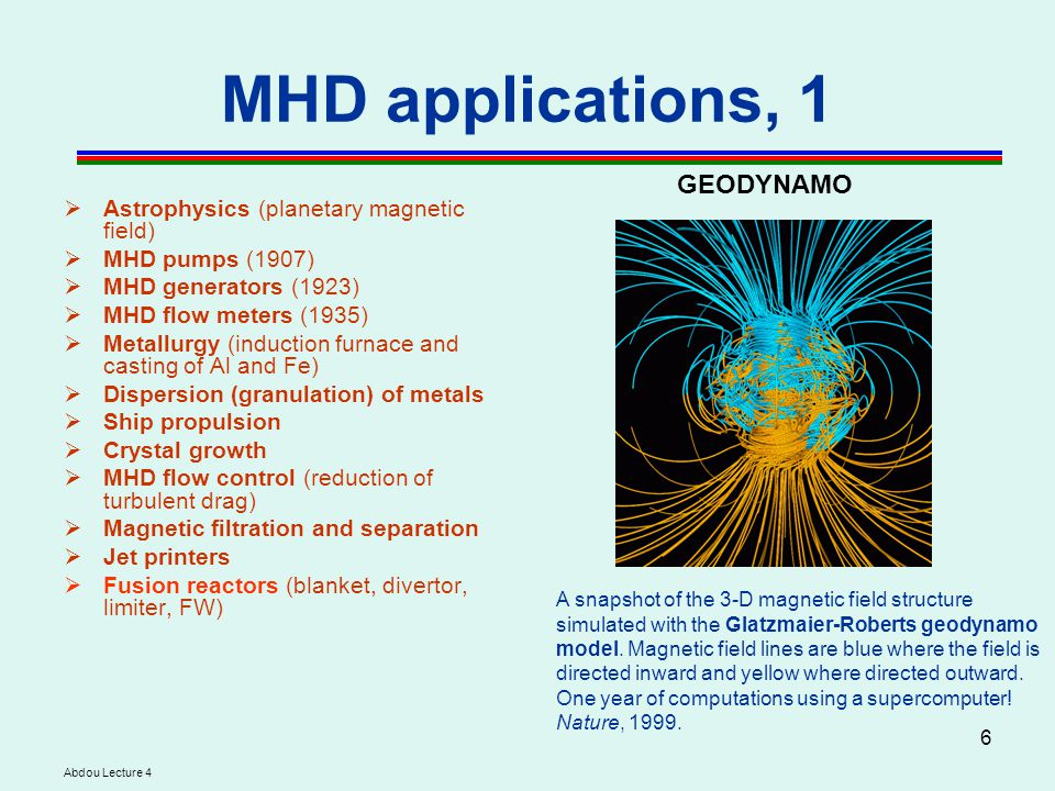 Introduction to MHD and Applications to Thermofluids of