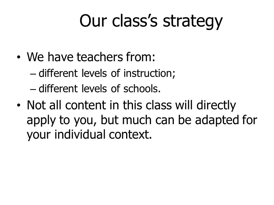 Classroom Strategies For English Medium Teaching And Learning Ppt