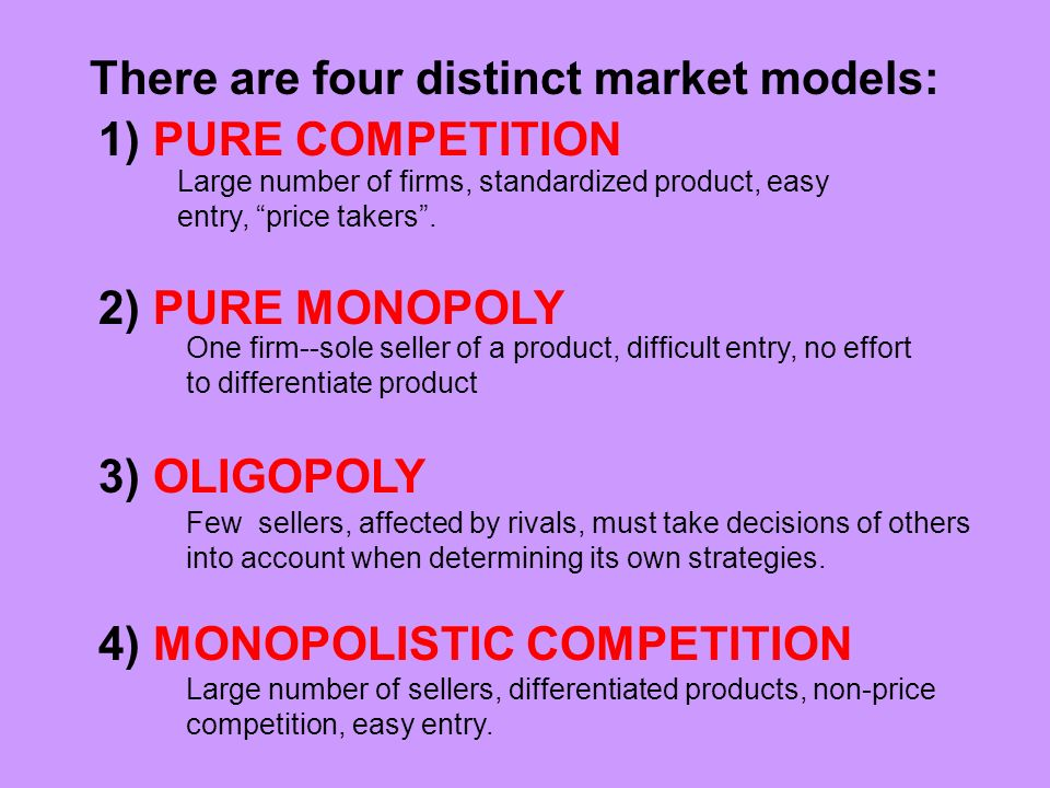 pure competition examples