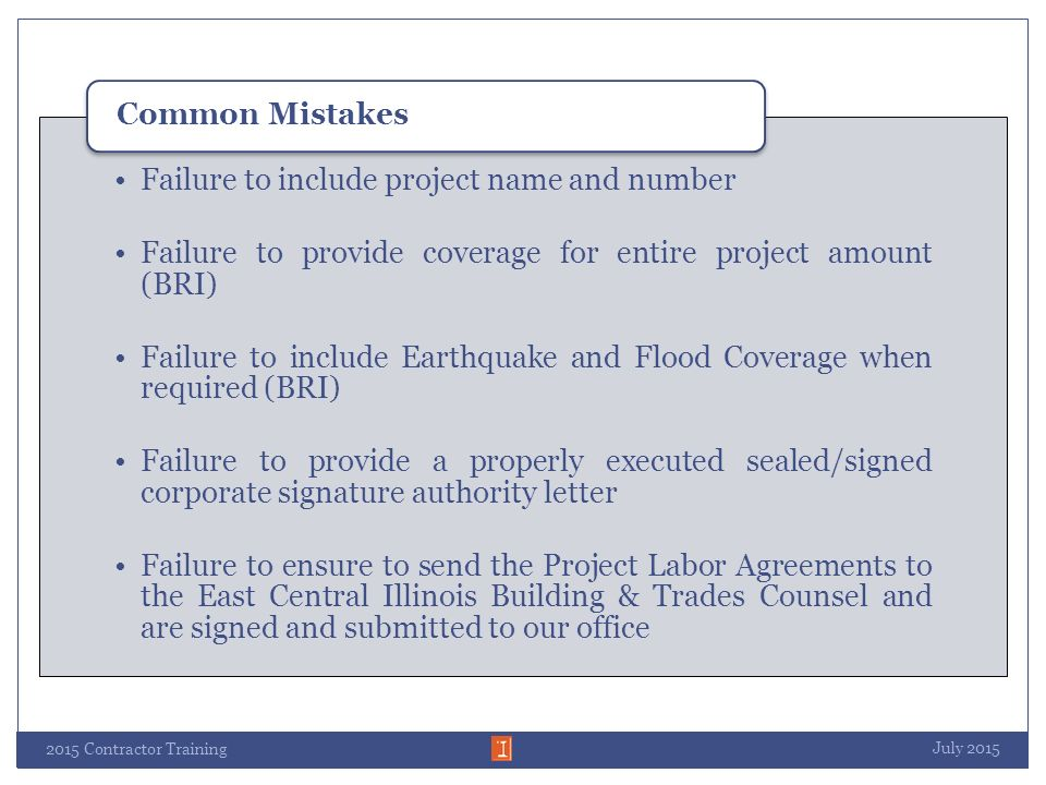 Bidding Capital Project at the University of Illinois for