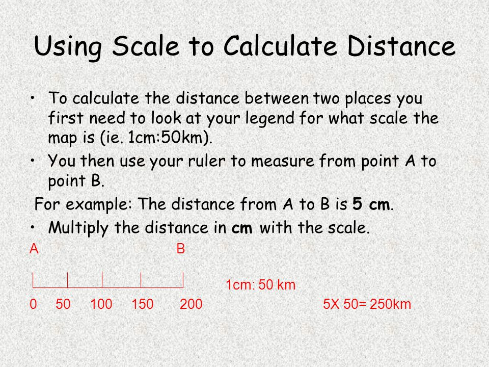 Scale and Distance. - ppt video online download