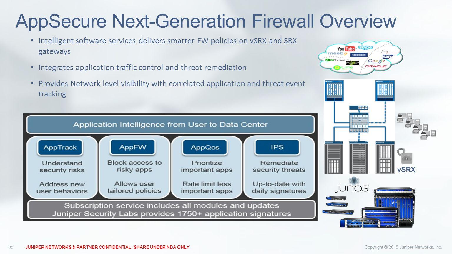 Juniper vSRX Technical Overview for X47D20 Release  - ppt