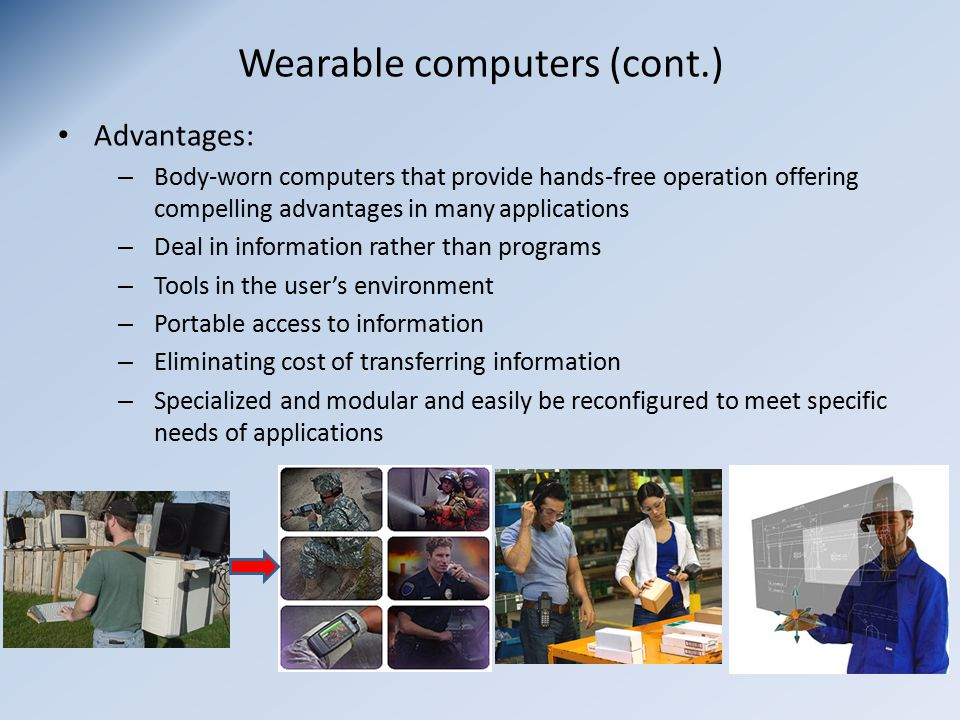 Application Design For Wearable Computing Ppt Download