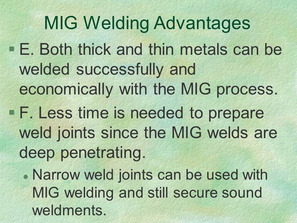 Applying Metal Inert Gas (MIG) Welding Techniques - ppt download
