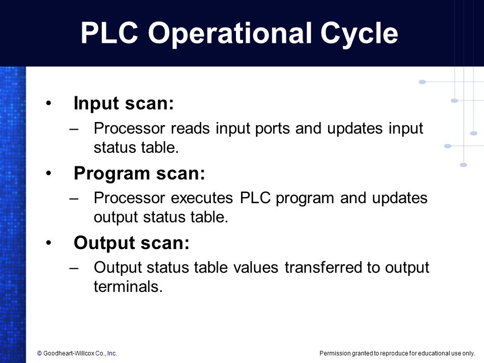 6 plc programming  6 plc programming objectives list the
