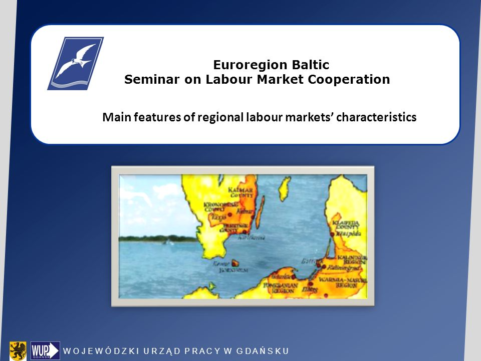 Main features of regional labour markets' characteristics