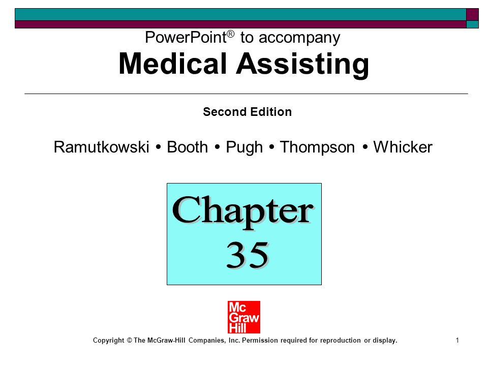 Medical Assisting Chapter Ppt Download