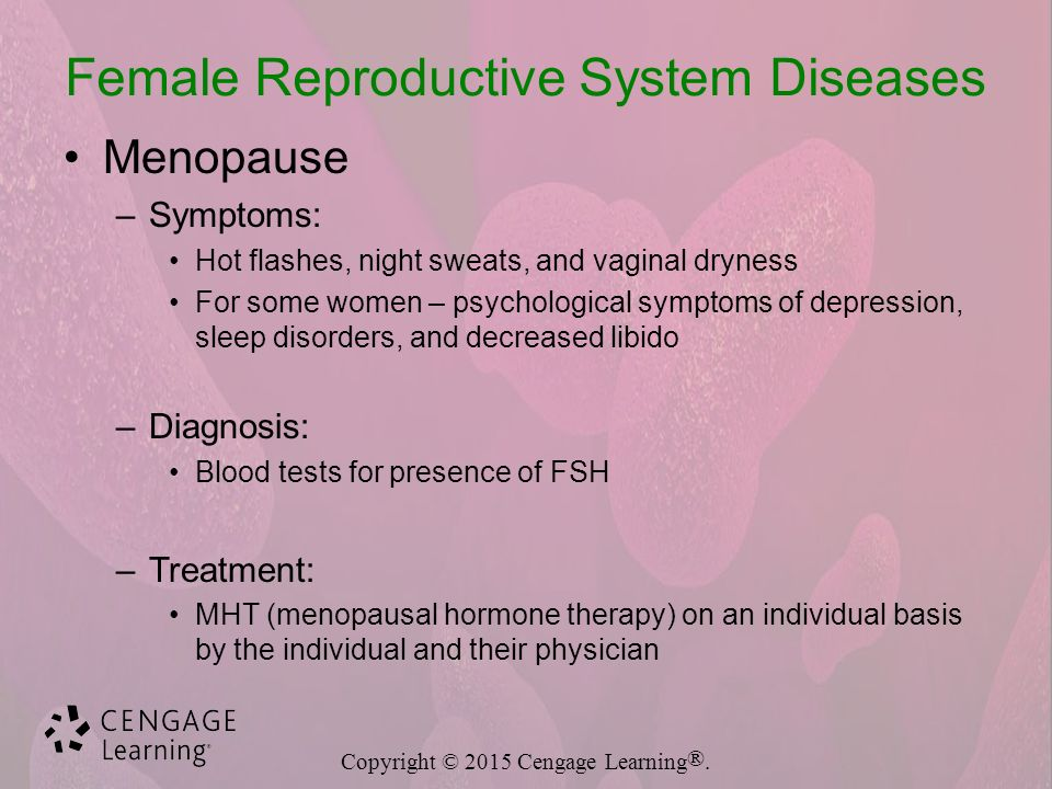 15 Female Reproductive System Diseases