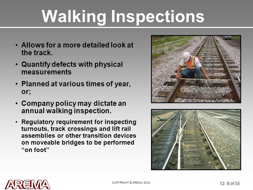 Module 12: Track Inspection & Maintenance - ppt download