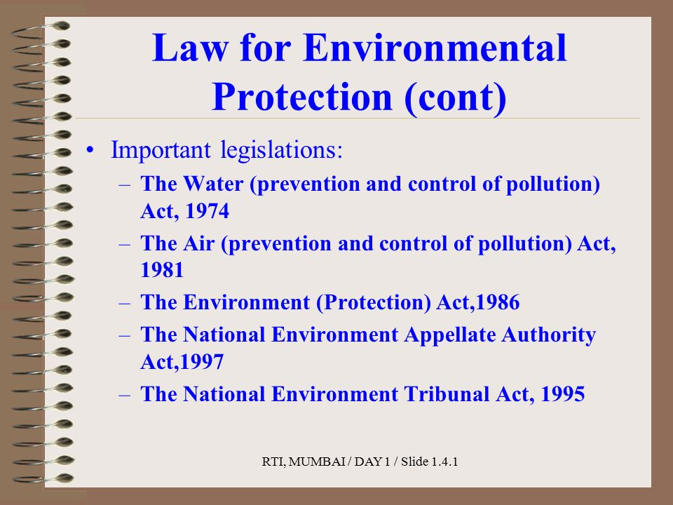 1 patel harsh c. Mech -b roll no environment protection act,1986.
