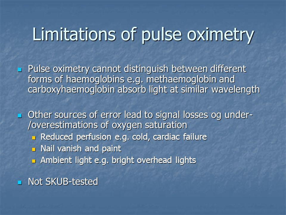 Pulse oximetry in general practice By Søren Brorson, MD, GP