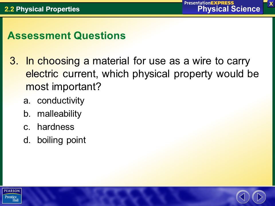Examples of Physical Properties - ppt video online download