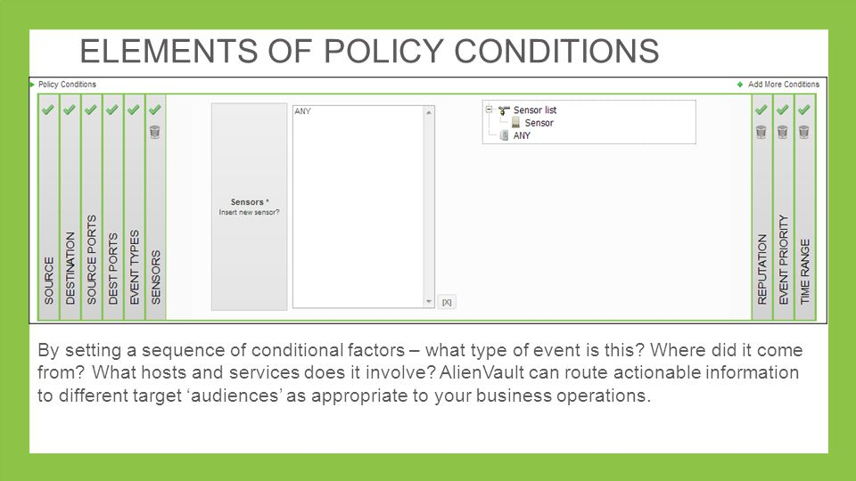 Correlations, Alarms and Policies - ppt video online download