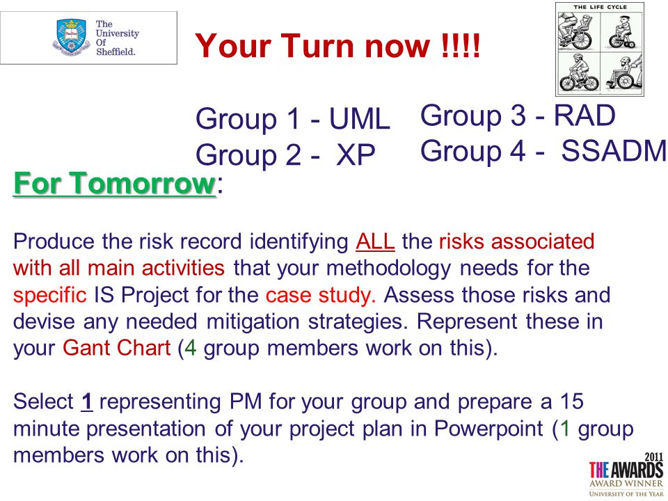 Information Systems Project Management IS Project Risk