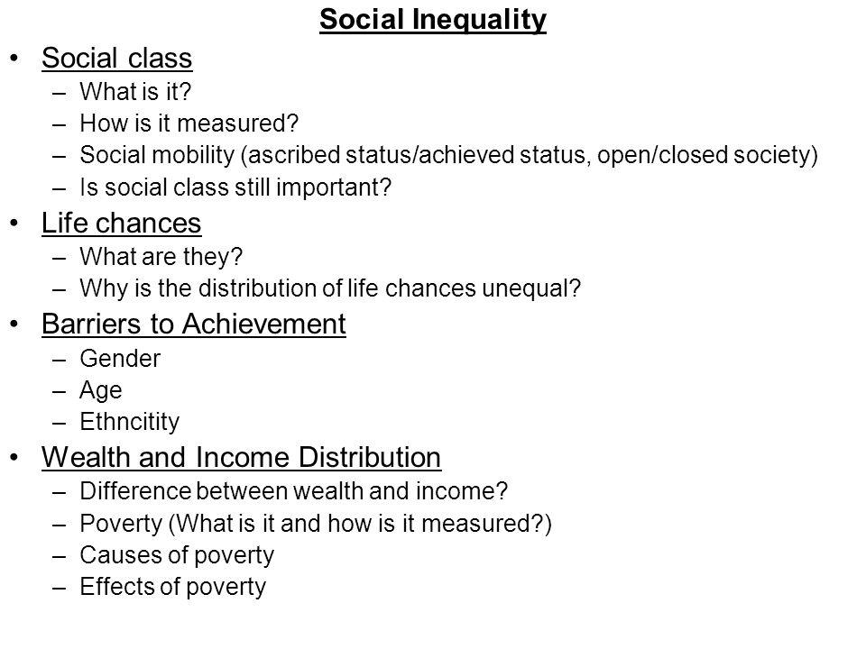 is social class still important