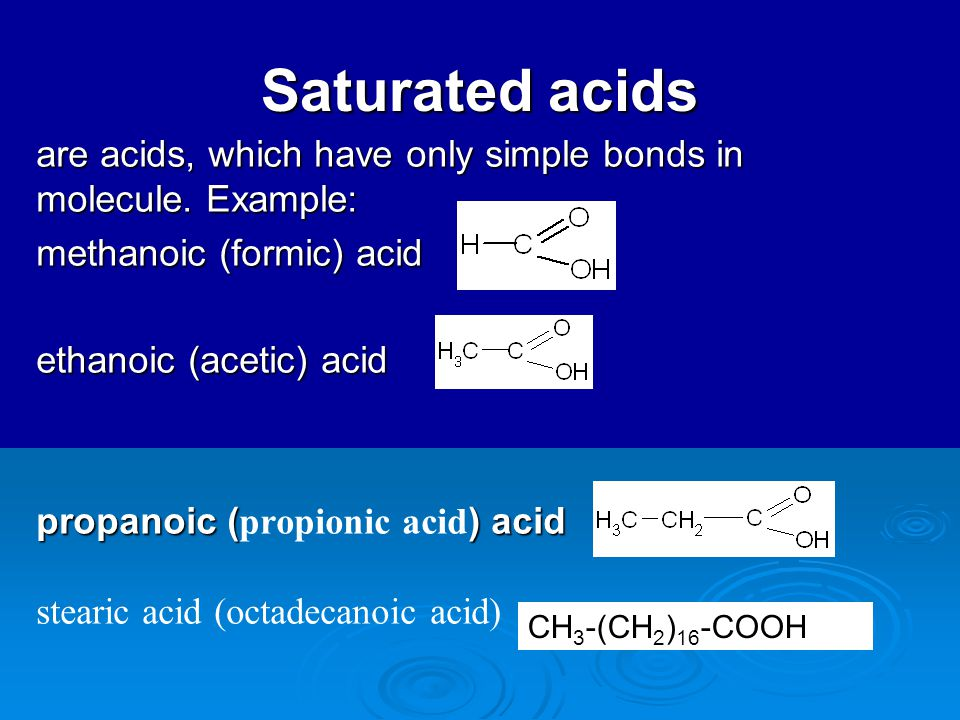Chemical Properties Of Formic Acid And Acetic Acid