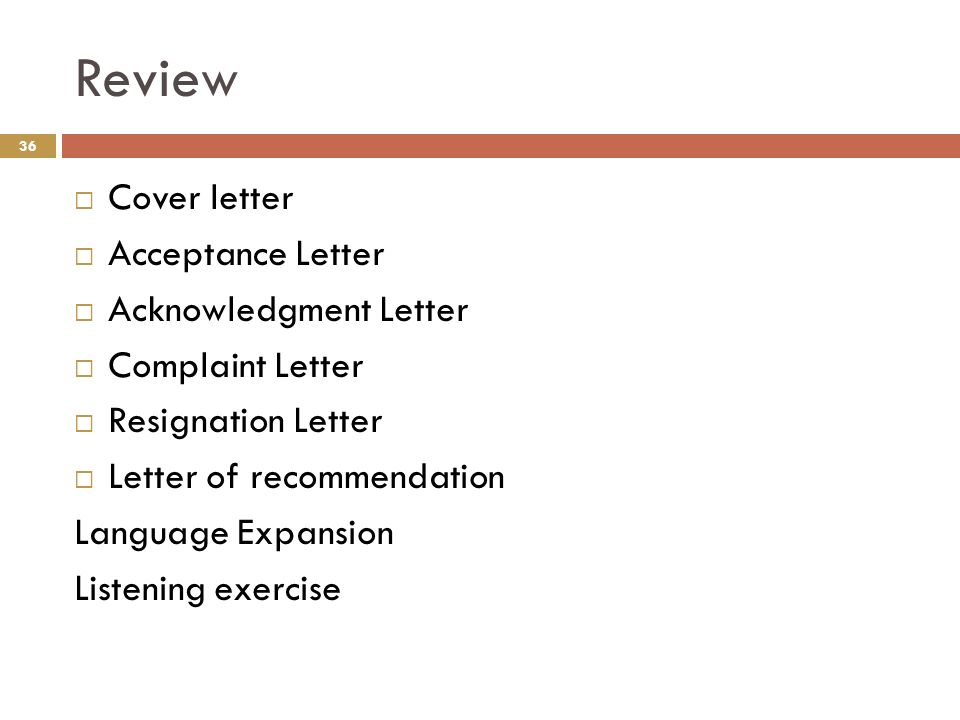 Cover Letter For Letter Of Recommendation from slideplayer.com