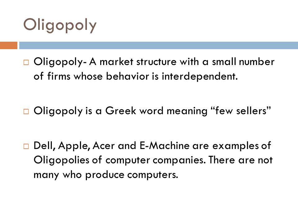 apple market structure
