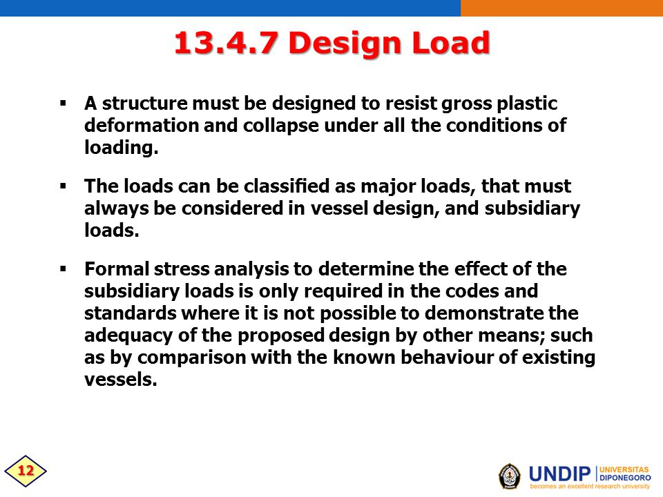 13 4  GENERAL DESIGN CONSIDERATIONS: PRESSURE VESSELS