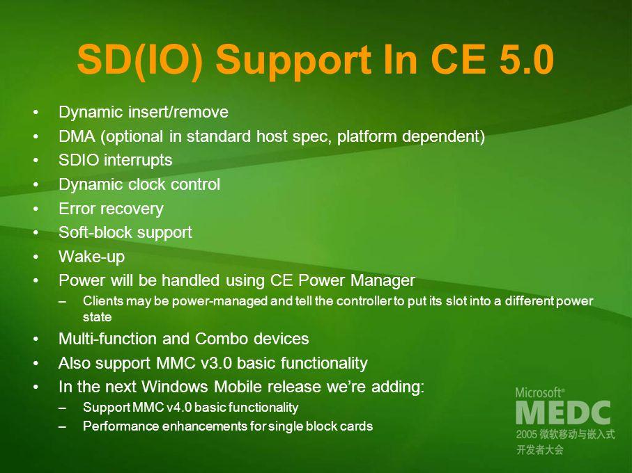 How To Write A Windows CE SDIO Client Driver - ppt video