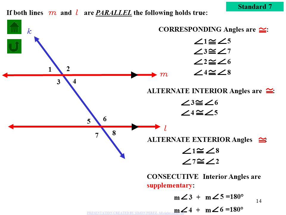 Angles form by a transversal parallel lines cut by a - Which of the following are exterior angles ...