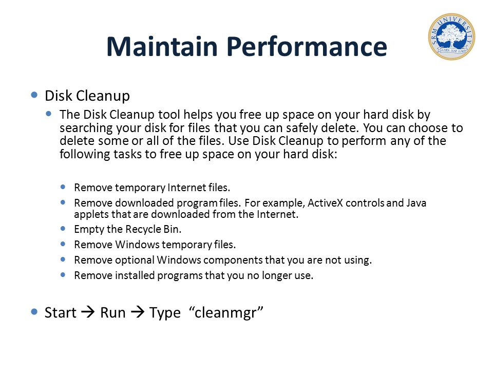how to delete programs off your disk space