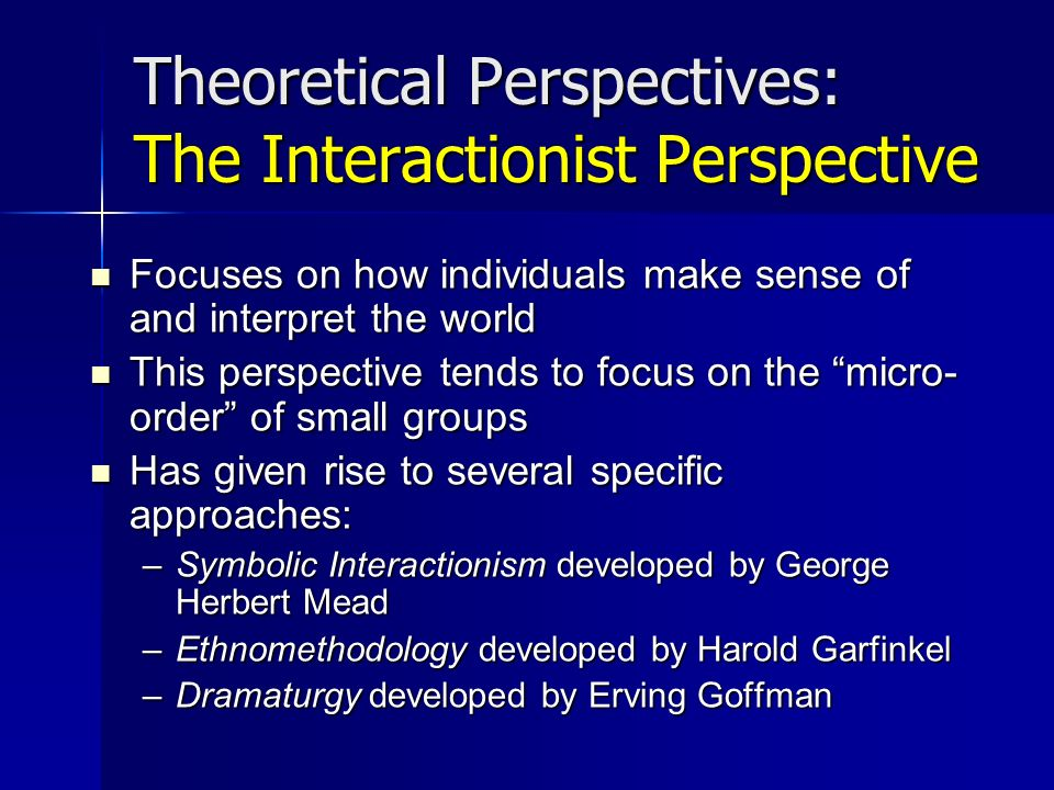 theoretical perspective on learning The theories are treated in four parts: a short historical introduction, a discussion of the view of knowledge presupposed by the theory, an account of how the theory treats learning and student motivation, and, finally, an overview of some of the instructional methods promoted by the theory is presented.