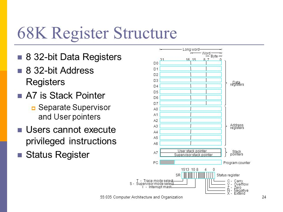 55:035 Computer Architecture and Organization - ppt video
