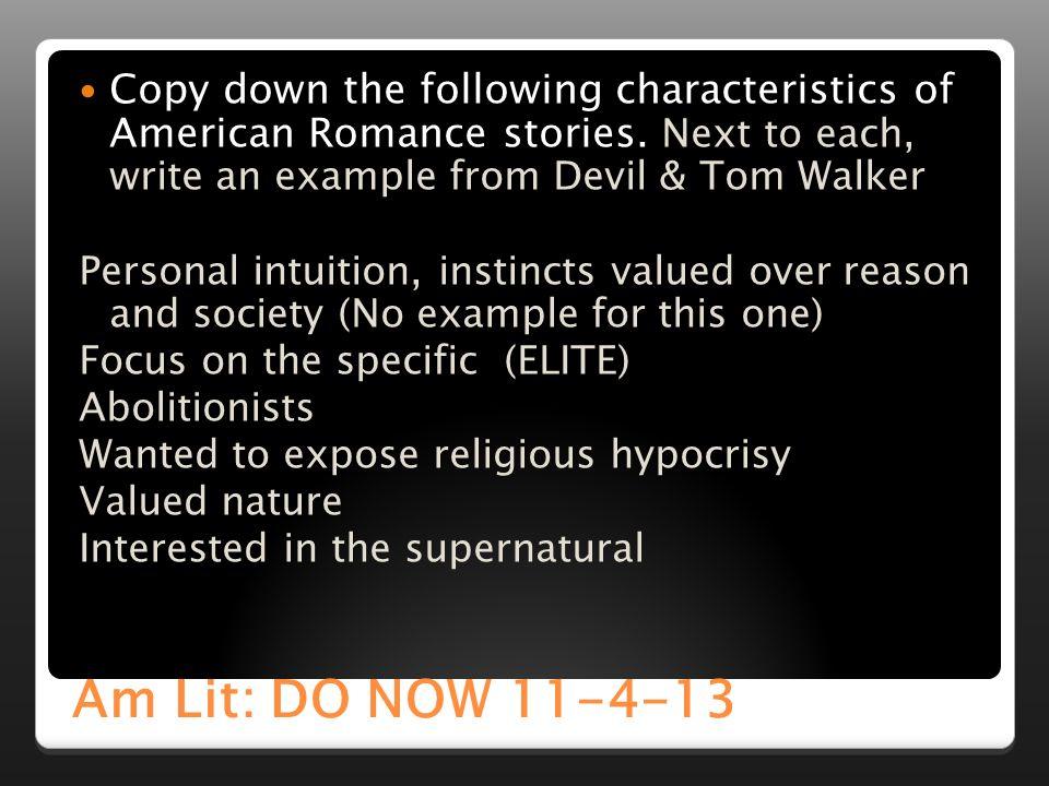 American Literature: American Romanticism - ppt video online download