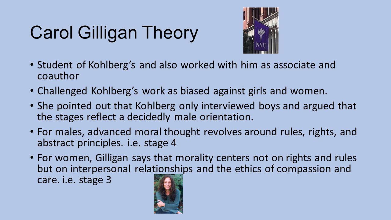 13 carol gilligan theory
