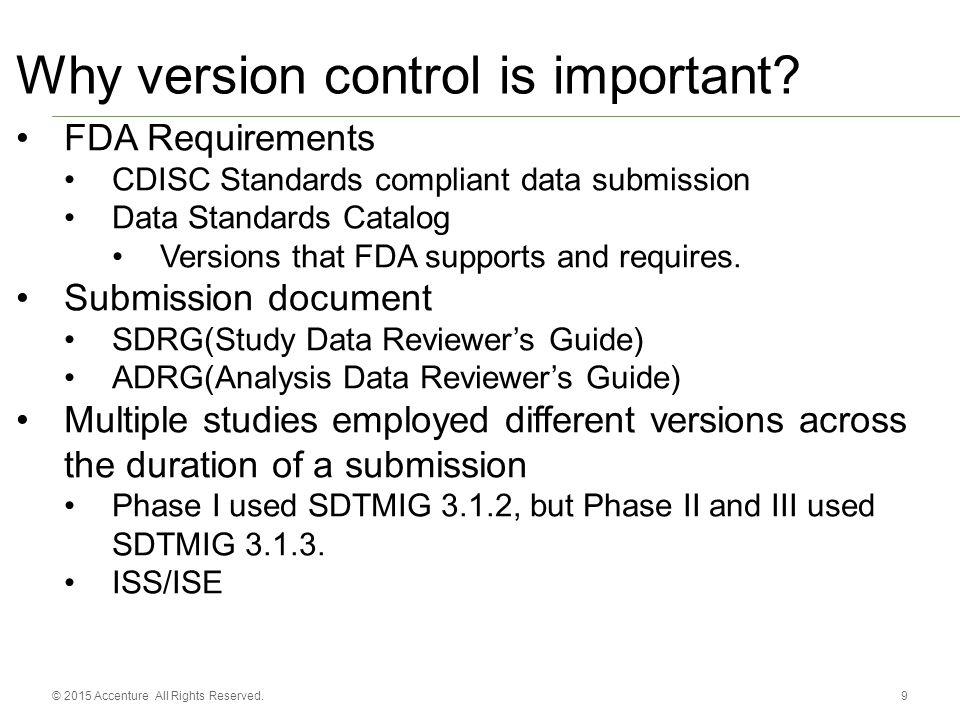 Accenture Accelerated R D Standards Metadata Management Version